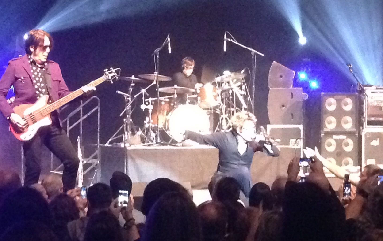 Brothers Tim and Richard Butler led the Psychedelic Furs at the State Theatre on Tuesday.