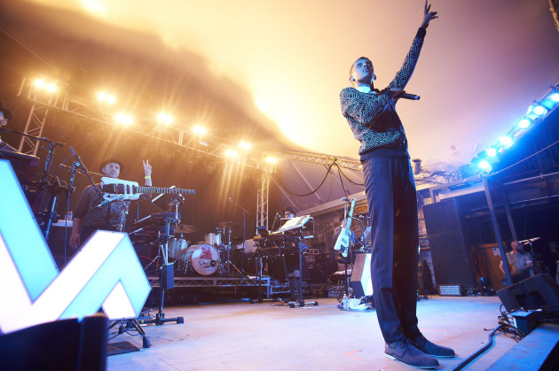 Brussels native Paul Van Haver, aka Stromae, performed in March at South by Southwest in Austin, Texas. / Photo by Tony Nelson