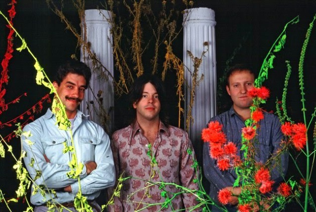 Hüsker Dü in their last active year, 1987, from left: Greg Norton, Grant Hart and Bob Mould. / Photo by Daniel Corrigan