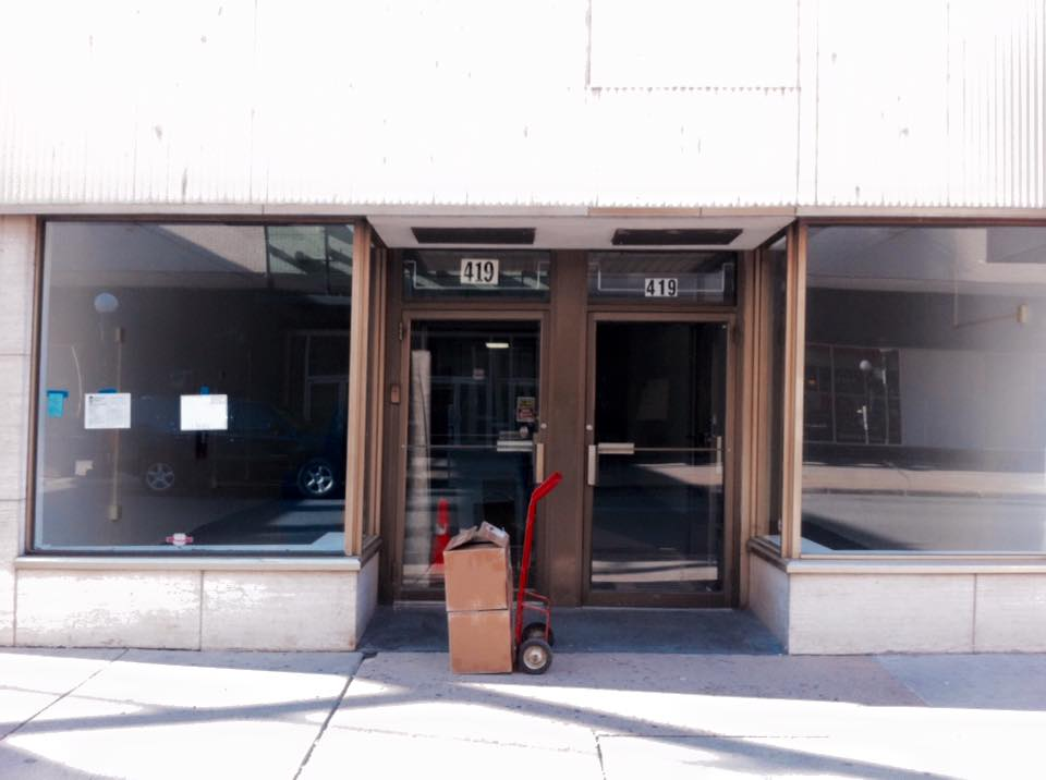 The new Eclipse Records storefront before the move-in. / Photos courtesy Eclipse