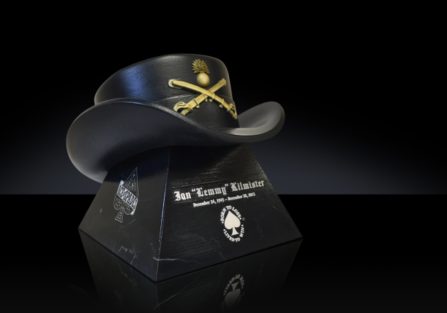 Lemmy Kilmister's custom-made urn will be on permanent display at Forest Lawn Cemetery in Hollywood. / Photo courtesy Foreverence