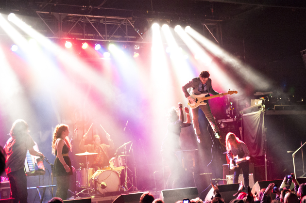 Black Diet made the most of its winning slot in 2014's Are You Local? contest at First Avenue. / Leslie Plesser, Star Tribune