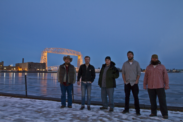 Trampled by Turtles will be right at home on 89.3 the Current's new Duluth outlet, which could maybe host a coat drive for the band members in the near future. / Stephen Hoglund, Special to the Star Tribune