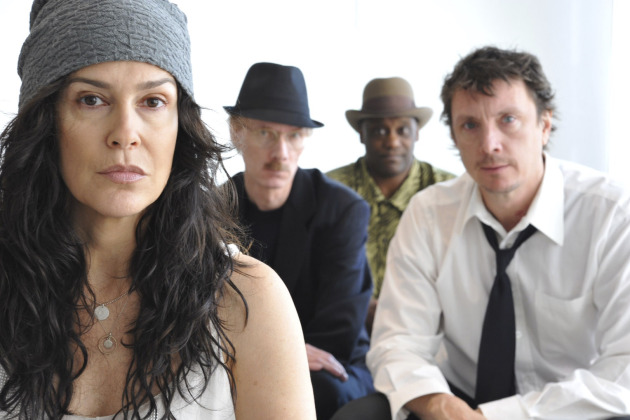 The artists formerly known as the Family, now fDeluxe, in a 2011 photo (from left): Susannah Melvoin, Eric Leeds, Jellybean Johnson and Paul Peterson.