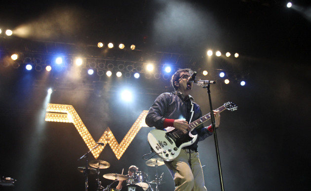 Rivers Cuomo previously rocked the State Fair Grandstand with Weezer in 2011. / Kyndell Harkness, Star Tribune