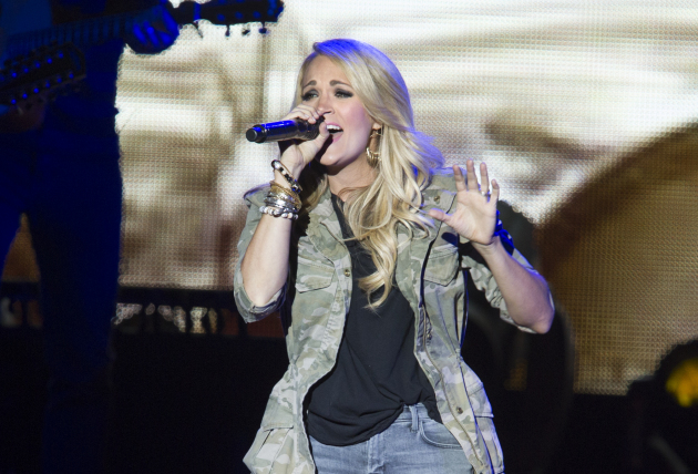 Carrie Underwood performed to a sold-out crowd last August at the Minnesota State Fair. / Courtney Perry, Star Tribune
