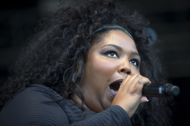 Lizzo performed for the last time with Grrrl Prty at Rock the Garden in June between stints in Los Angeles. / Aaron Lavinsky, Star Tribune