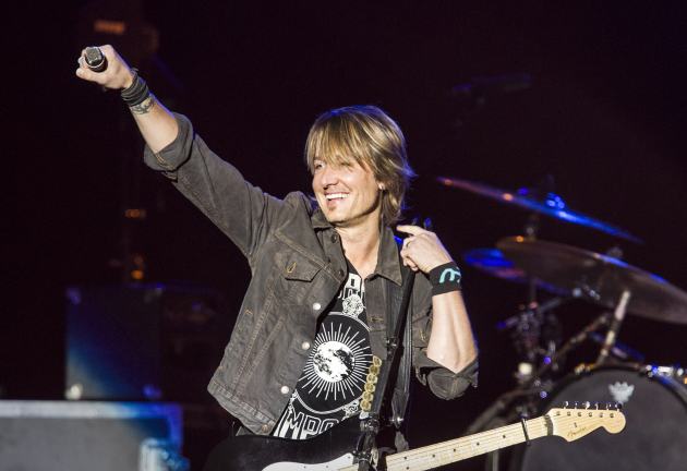 Keith Urban riled up the Minnesota State Fair grandstand in 2015 and returned this year to Target Center. / Courtney Perry for Star Tribune