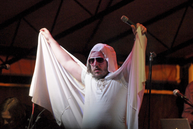 """Har Mar Superstar sang George Michael's """"One More Try"""" during Gayngs' performances at the South by Southwest Music Conference in 2011. / Tony Nelson for Star Tribune"""
