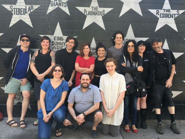 Sonia Grover, third from right, with other First Avenue staff last summer. / Photo courtesy First Ave