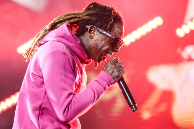 Lil Wayne at the BET Experience show last June. / Rich Fury, Invision/AP