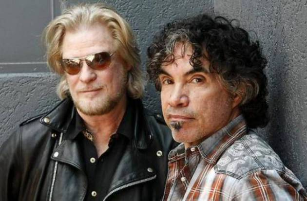 Daryl Hall, left, and John Oates last played together in town back in 2010.