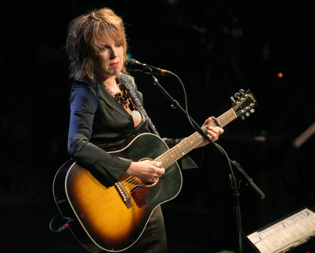 Lucinda Williams at First Avenue in 2009 (the night she got hitched on stage). / Tom Wallace, Star Tribune