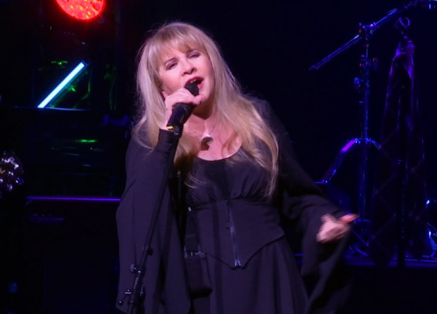 Stevie Nicks on stage in New York last year. / AP Photo, Bruce Barton