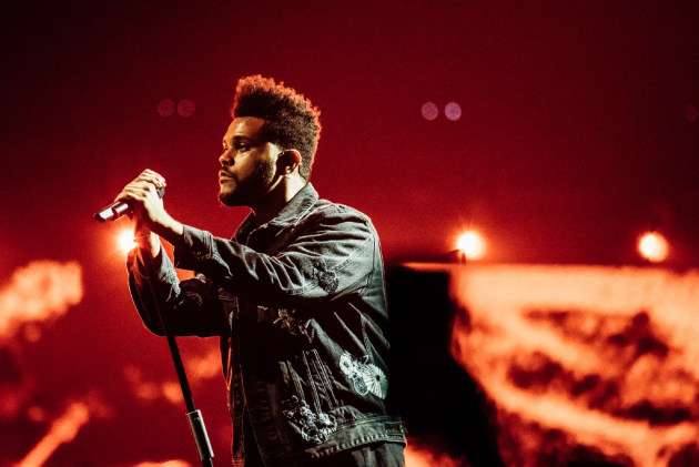 The Weeknd packed Barclays Center in New York two weekends ago before heading to Bonnaroo last weekend. / Nina Westervelt, New York Times