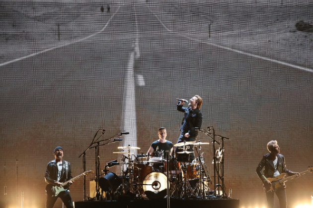 U2's show Friday was the fifth concert at U.S. Bank Stadium and came with high expectations. / Jerry Holt, Star Tribune