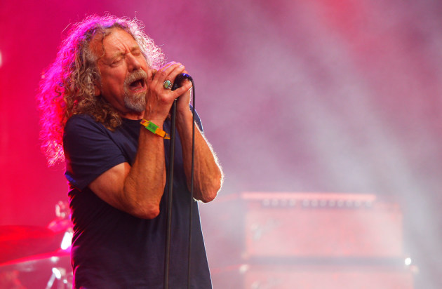 Robert Plant at the Bonnaroo festival in 2015. / Wade Payne, Invision/AP