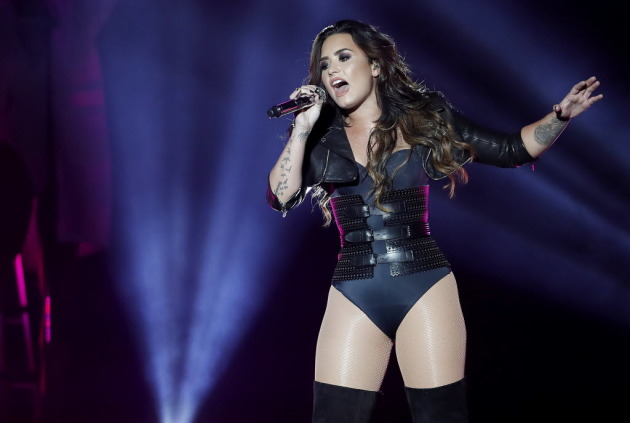 Demi Lovato was last seen in town at the Minnesota State Fair grandstand in 2016. / Carlos Gonzalez, Star Tribune
