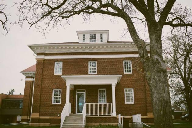 Exterior shot of Jefts Hall. / Laura DeMars