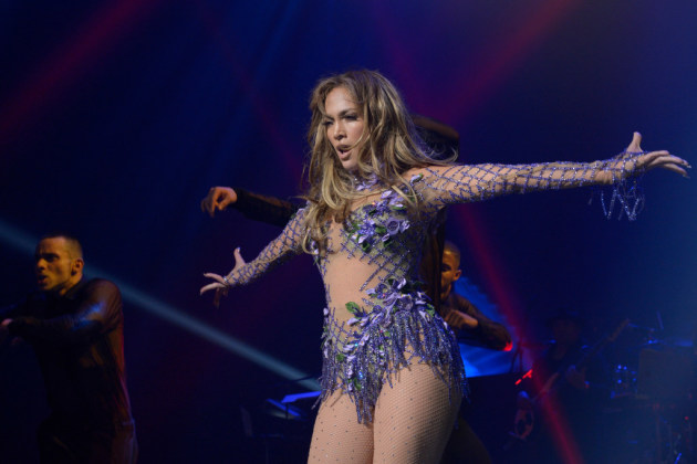 Jennifer Lopez at a Telemundo concert last year in New York. / Virginia Sherwood/Telemundo