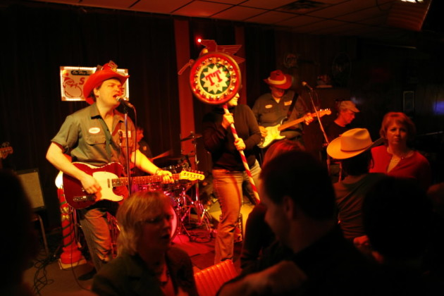 Trailer Trash's Trashy Little Xmas shows at Lee's were an annual tradition for many Twin Citians. / Richard Tsong-Taatarii, Star Tribune