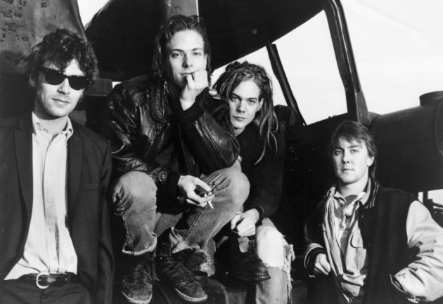 Soul Asylum in the mid-'80s, with the late Karl Mueller, Grant Young, Dave Pirner and Dan Murphy. / From Twin/Tone Records