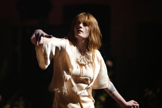 Florence Welch performed earlier this month in Los Angeles. / Willy Sanjuan, Invision/AP