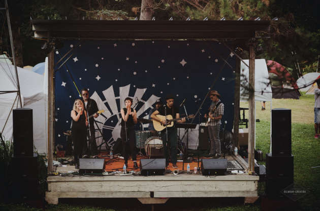 Roma di Luna performed at last year's Square Lake Film & Music Festival. / Photo by Gilmour Creative for Square Lake Fest