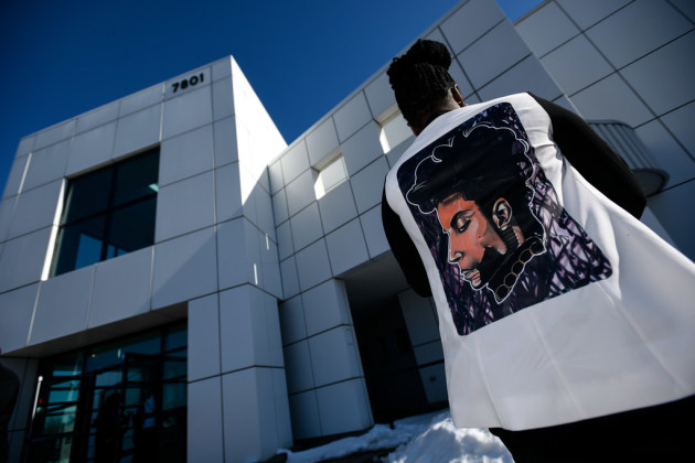 Kia Clark, of Oakland, Calif., visited Paisley Park in April. / Aaron Lavinsky, Star Tribune