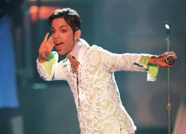 Prince circa 1997. / AP File