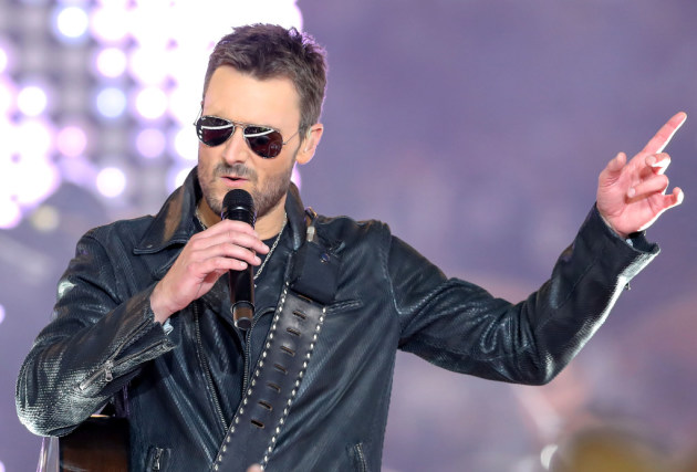 Eric Church's future is so bright he's gotta wear shades. / Steve Nurenberg, Fort Worth Star-Telegram & TNS