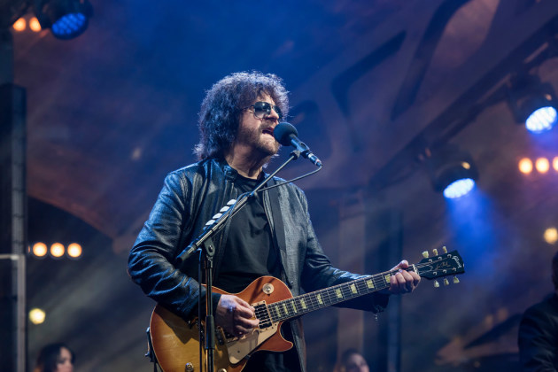 Jeff Lynne's big comeback with E.L.O. started in 2017 at Wembley Stadium. / Photo by Carsten Windhorst for Showtime