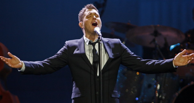 Michael Buble last sang at Xcel Center in 2013. / Star Tribune file