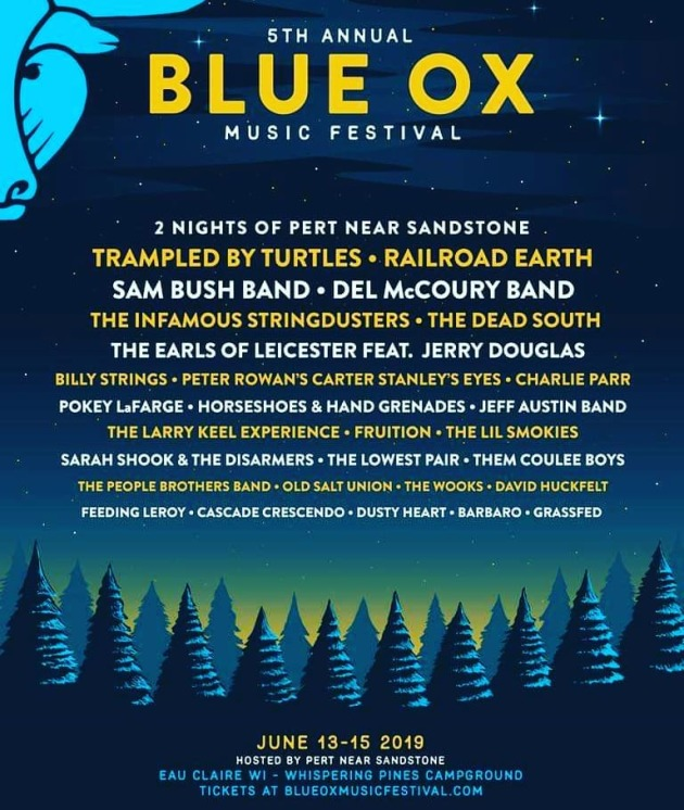 The Blue Ox 2019 poster