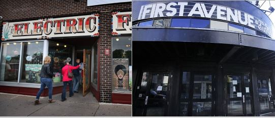 The Electric Fetus and First Ave each remain cooler than your average Gen-Xer. / Star Tribune file