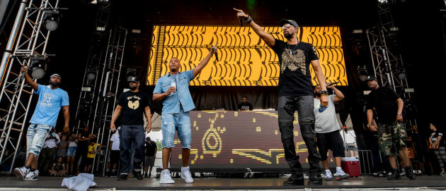 All the members of Wu-Tang Clan showed up to the Soundset fest in May. / Carlos Gonzalez, Star Tribune