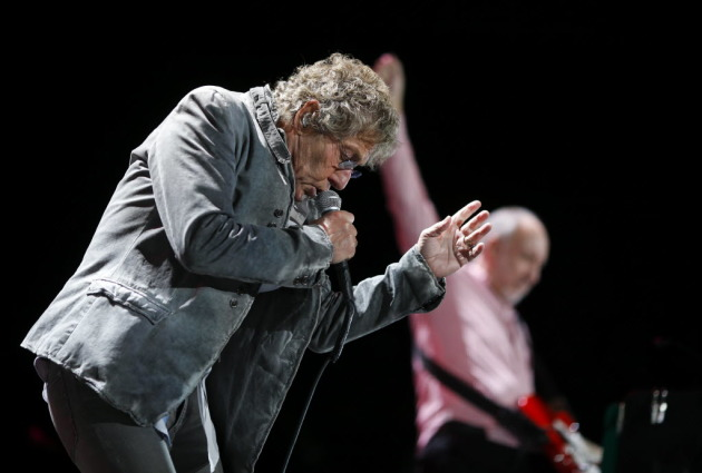 Roger Daltrey and Pete Townshend last played in town at Target Center in 2016. / Jeff Wheeler, Star Tribune