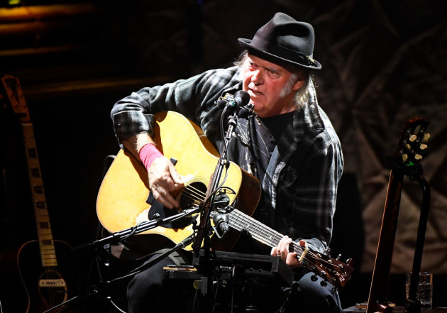 Neil Young kicked off his four-show Minneapolis run Saturday at the Pantages. / Aaron Lavinsky, Star Tribune