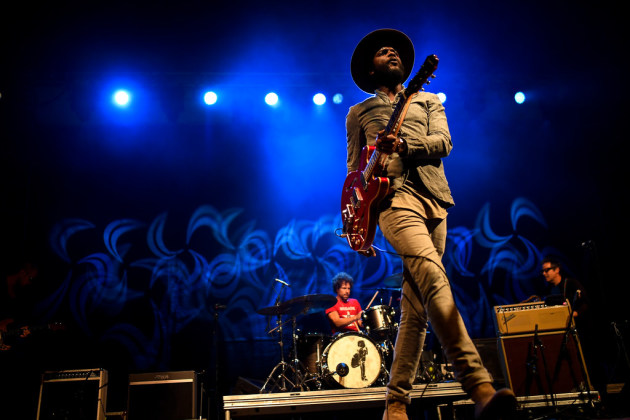 Do they come any cooler? Gary Clark Jr. jammed in front of a packed crowd last year outside Surly Brewing. / Aaron Lavinsky, Star Tribune