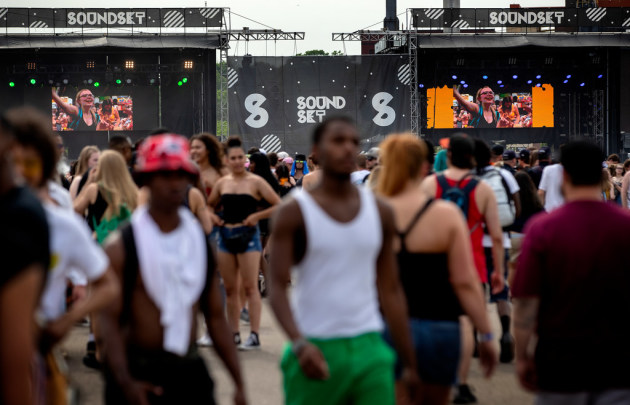 Last year's Soundset festival at the Minnesota State Fairgrounds was a sweltering one. / Carlos Gonzalez, Star Tribune
