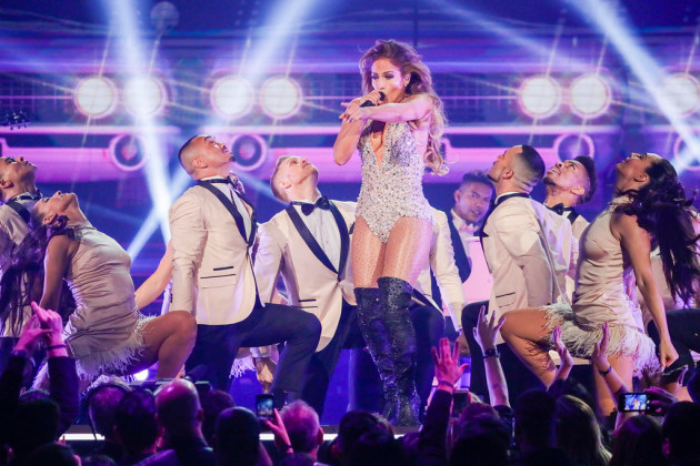 Jennifer Lopez performed in a Motown tribute during last month's Grammy Awards. / Robert Gauthier, Los Angeles Times/TNS
