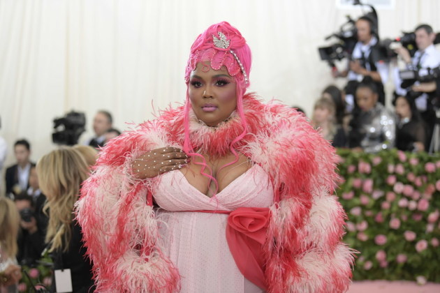 Lizzo according to Marc Jacobs at the Met Gala. / Nina Westervelt, New York Times