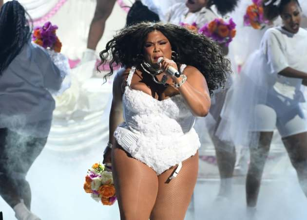 Lizzo performed her 2016 single at Sunday's BET Awards in Los Angeles. / Courtesy BET