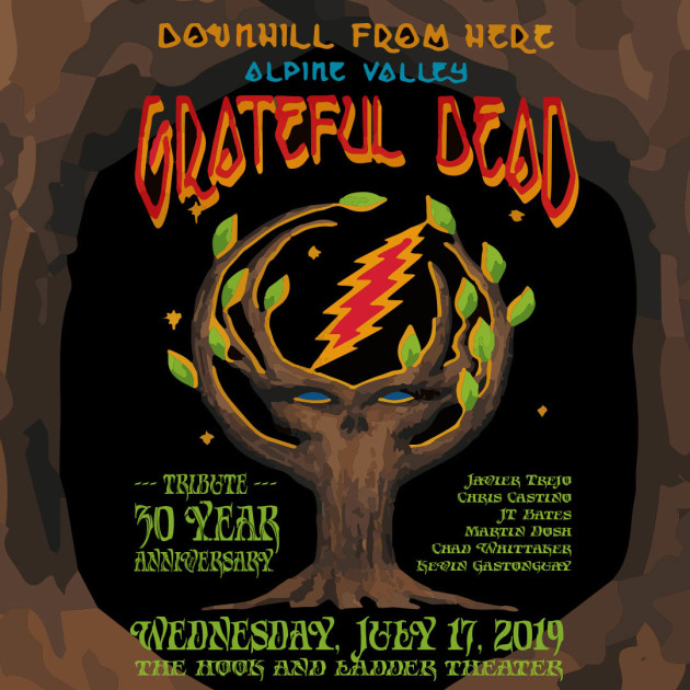 Grateful Dead's 1989 Alpine Valley sets to be commemorated Wednesday