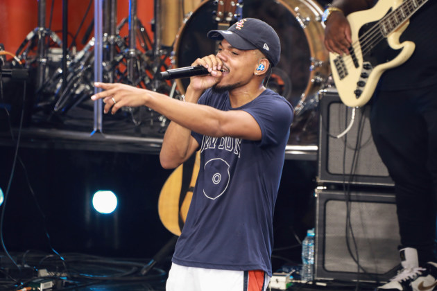 "Chance the Rapper promoted his new album ""The Big Day"" last month on ABC's ""Good Morning America."" / Jason Mendez, Invision/AP"