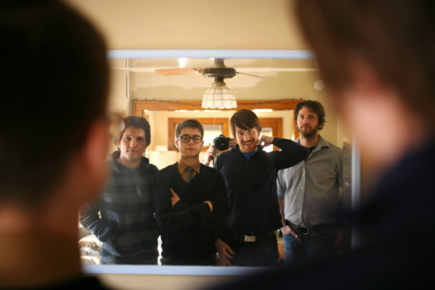 The members of Tapes 'n Tapes (shown here in 2008) have had plenty of time to reflect since going on hiatus in 2012. From left: Matt Kretzman, Jeremy Hanson, Josh Grier and Erik Appelwick. / Jeff Wheeler, Star Tribune file