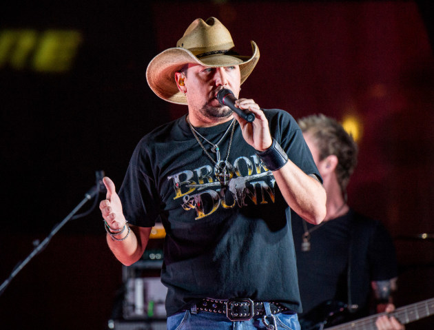 Jason Aldean returned to the road this year and filled several stadiums. / Amy Harris, Invision/AP