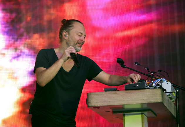 Thom Yorke performed two weekends ago at the Austin City Limits Music Fest. / Jack Plunkett, Invision/AP