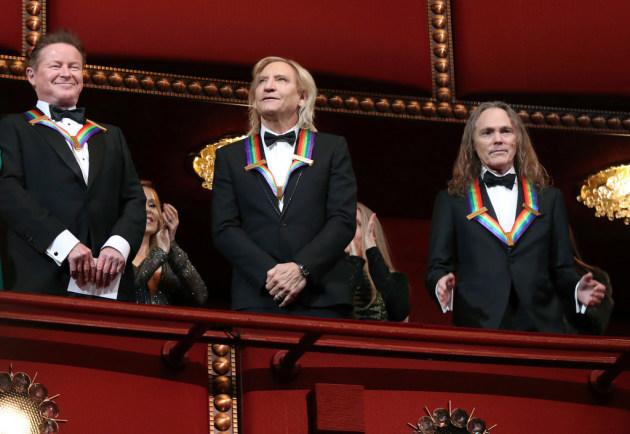 Don Henley, Joe Walsh and Timothy Schmit received a 2016 Kennedy Center Honor award. / Manuel Balce Ceneta, AP Photo