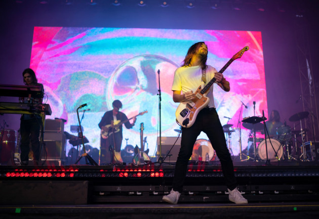 Tame Impala lit up Surly Festival Field over two nights in July, one of the hottest tickets of summer. / Jeff Wheeler, Star Tribune